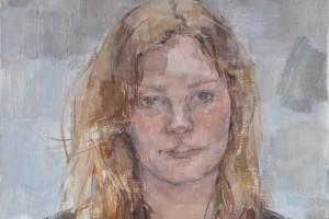 """Imogen  2012  oil on canvas 16x12"""""""