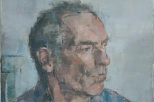 """Julian  2012  oil on canvas  16x12"""""""