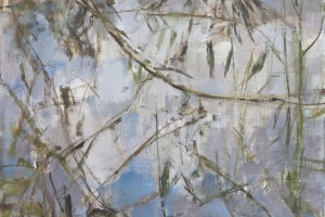 """Willow, River  2012  oil on canvas  20x16"""""""