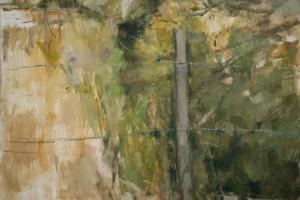 """On the Little Bridge 2011 oil on canvas 44x33"""""""